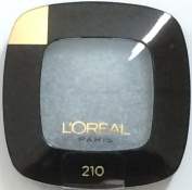 L'Oréal Paris Colour Riche Monos Eyeshadow Pressed Powder, 210 Argentic. Pack of 3.