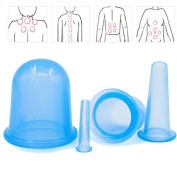 Massager Cupping Cup , Aoohe Health Care Body Anti Cellulite Silicone Vacuum Massage Body Neck Face
