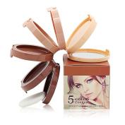 Ucanbe Cylinder Cream Contour Kit Face Foundation Concealer Palette for Contouring Highlighting Bronzer Makeup Set
