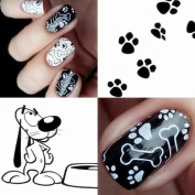 Born Pretty Animal Theme Nail Art Stamping Template Image Plate BORN PRETTY BP-L025