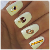 Washington Redskins Water Slide Nail Decals