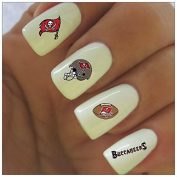 Tampa Bay Buccaneers Water Slide Nail Decals