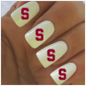Stanford Football Water Slide Nail Decals
