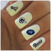 Los Angeles Rams Water Slide Nail Decals