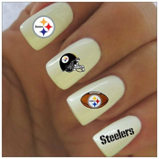 Pittsburgh Steelers Water Slide Nail Decals