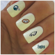 Philadelphia Eagles Water Slide Nail Decals