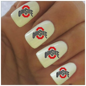 Ohio State Water Slide Nail Decals