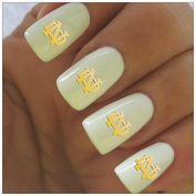 Notre Dame Water Slide Nail Decals