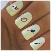 New England Patriots Water Slide Nail Decals