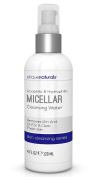 Micellar Facial Cleanser - Micellar Face Wash - Large 120ml Value Size - Elrique Naturals Micellar Water