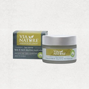 Via Nature Facial Moisturiser - Face and Neck - Daytime - Daily Defender - 50ml