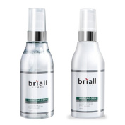 Briall Homme Anti-Sebum Whitening Toner and Lotion Set 120ml ea