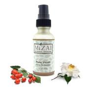 Mizai Raw Organic Superfood Face Oil Serum, PURE vigour for Anti Ageing Infused With Rosehip, Camellia, Borage, Camu Camu and Alfalfa