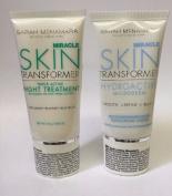 Sarah McNamara Set Miracle Skin Transformer Tripe Active Night Treatment Hydroactive Microderm