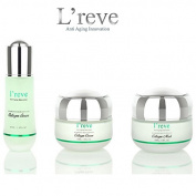 L'reve Anti Ageing Green Diamond Rejuvenate Collagen 3pcs Set