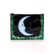 Blue Q Moon Zippered Pouch