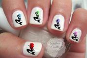 Fantasy Mermaids Nail Art Decals