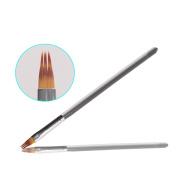 BQAN 1PC Clear Ombre Nylon Hair Brush UV Gel Brush Professional Nail Art Design Tools