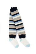 Otium Brands Infant Leg Warmer Socks, Blue Stripes