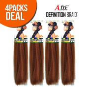 4 Pack Deal ISIS Synthetic 100% Kanekalon Braid A Fri-Naptural Definition Braid