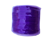 Purple String Braided Jewellery Cord Crafts Beading Twisted Twine Mason Line 70mts/ 76.5 yd