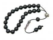 A2-0237 - Loose String Greek Komboloi Prayer Beads Worry Beads 10mm Hematite Gemstone