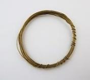 Jewellers Tools 10Pcs Brass Wire Tension Spool Assortment Clocks Gauge 18-27 Clock Spring Mantle