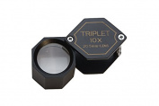 10X 20.5MM Triplet Hexagon Loupe