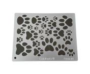 "Cabtopia -- Lapidary Jewellery Design Template Stencil ""Prints #2.5cm"