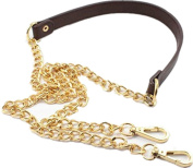 """120cm/47.2"""" Replacement Chain & PU Synthetic Leather Shoulder Crossbody Straps Bags/Handbag/Handle/Purse"""