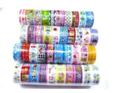 10 Rolls Mixed Lovely Cartoon Deco Washi Tape Adhesive Scrapbooking Sticker