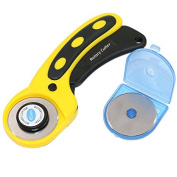 QST 45mm Rotary Cutter Set 5pcs Blades for Fabric Paper Vinyl Circular Cut Cutting Disc Patchwork Leather Craft Sewing Tool