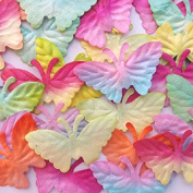 Butterfly Mulberry Paper Scrapbooking Decorations 25-28 mm 50 Pcs