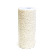 Firefly Imports FCLAC0612IVY Faux floral Lace Ribbon, 15cm , 10 yd, Ivory