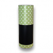 Brand ink 862673000356 Echo Wrap - Green Polka Dots