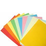 100 Sheets Double Sided Origami Paper 15cm x 15cm in 7 Colours