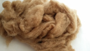 Baby Camel Wool Fibre Fibre 19 Micron Carded Roving Spinnig Felt 100grams 100ml