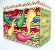 """PEPPERS"" Gift Basket Box Small ""Boxco"" (3 per package) 17cm x 10cm x 13cm"