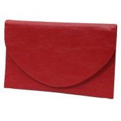 Envelope Clutch Purse Bag Cranberry