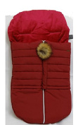 Cosy Coop Puffer Baby Bunting, Red