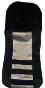 aBaby Bunting Bag, Metallic Leather