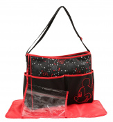 Disney Mickey Mouse Electric Circus Print Hobo Nappy Bag