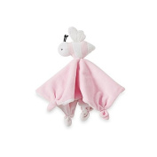 Burt's Bees Baby Plush Bee Lovey 100% Organic Cotton Blanket in Pink