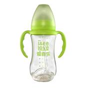 I See Love Premium Baby Feeding Bottle Colourful Anti-Broken BPA-Free 300ml