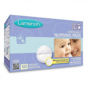 Lansinoh Disposable Nursing Pads - 100 Count 2PC
