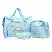 Asiacc® Multi Function Baby Nappy Nappy Changing Mat Bag Mummy Tote Handbag