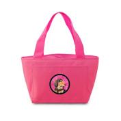 Caroline's Treasures LH9391PK Dachshund Lunch or Doggie Bag, Large, Pink