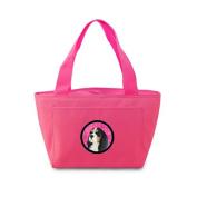 Caroline's Treasures LH9369PK Cavalier Spaniel Lunch or Doggie Bag, Large, Pink