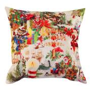 Pillow Cases,Dirance(TM) Home Decor Christmas Pillow Case Sofa Waist Throw Cushion Cover