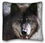 Custom Cotton & Polyester Soft Animal Pillow Covers Bedding Accessories Size 41cm x 41cm suitable for Twin-bed